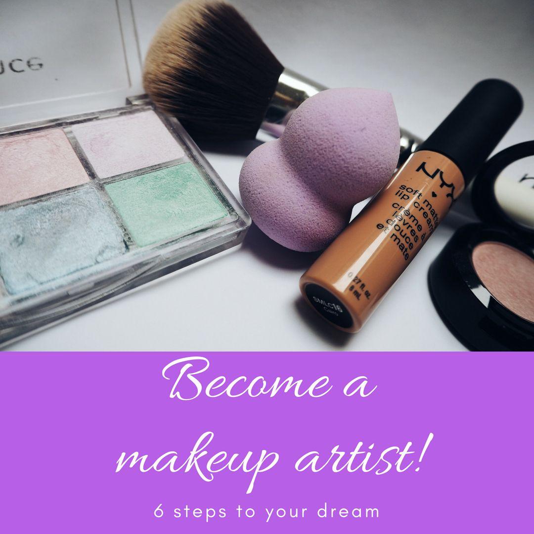 6 Steps of a Professional Makeup Artist