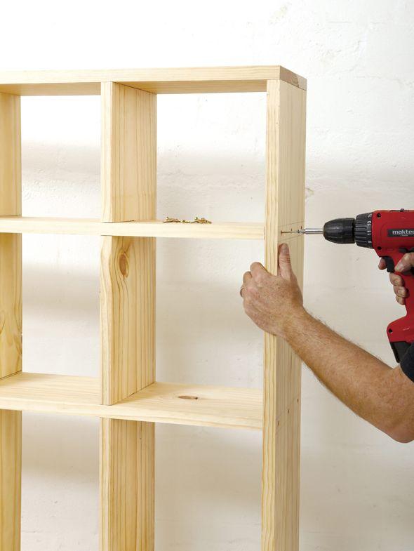 Bricolaje como hacer estante librero como hacer bricolage for Brico io mensole