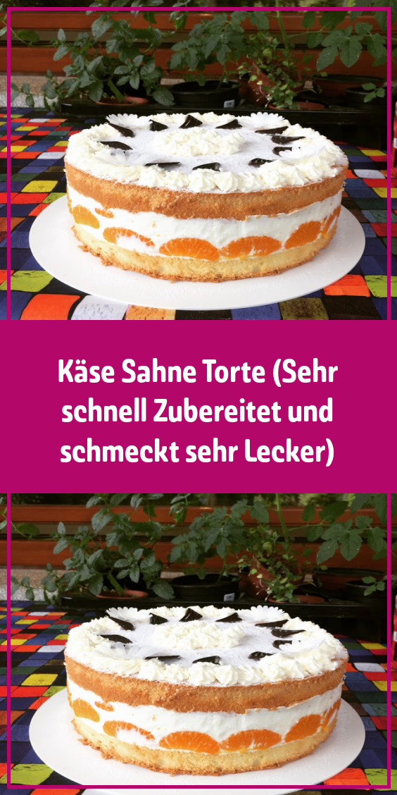Kasecremetorte Sehr Schnell Zubereitet Und Schmeckt Sehr Lecker Ruhrkuchen In 2020 Lecker Ruhrkuchen Rezept Kuchen Und Torten Rezepte