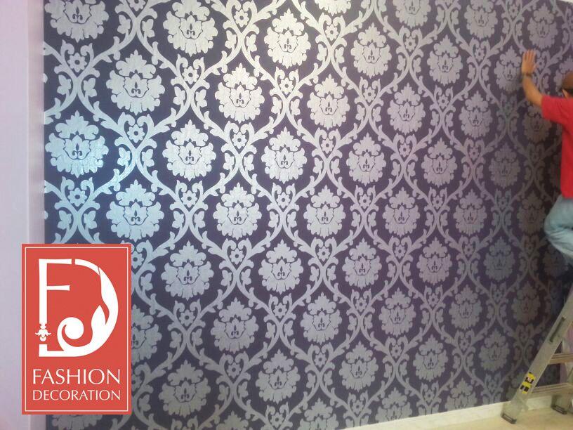 تركيب ورق الجدران بكل احترافية على ايدي مختصين منازل Deco ورق جدران ورق حائط ديكور منازل جدة الرياض Decor Decor Styles Home Decor