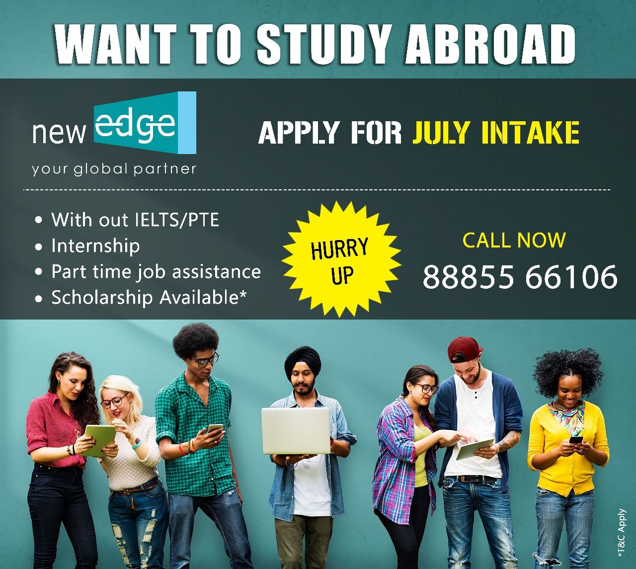 Overseas Education with New Edge. one of the best overseas