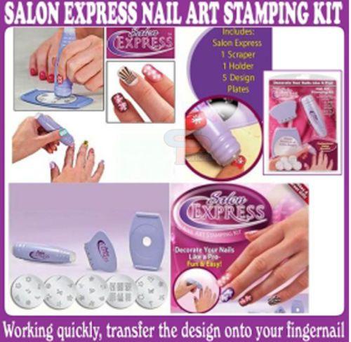 Salon Express Nail Polish Art Decoration Stamping Design