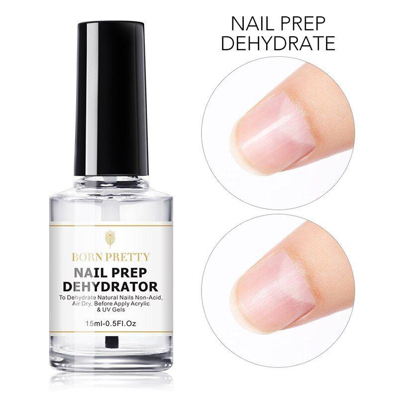 15ml Nail Prep Dehydrator And Nail Primer Set Free Grinding Nail Art No Need Of Uv Led Lamp Gel Nail Polish Tool Nail Prep Deh In 2020 Nail Primer Nail Polish