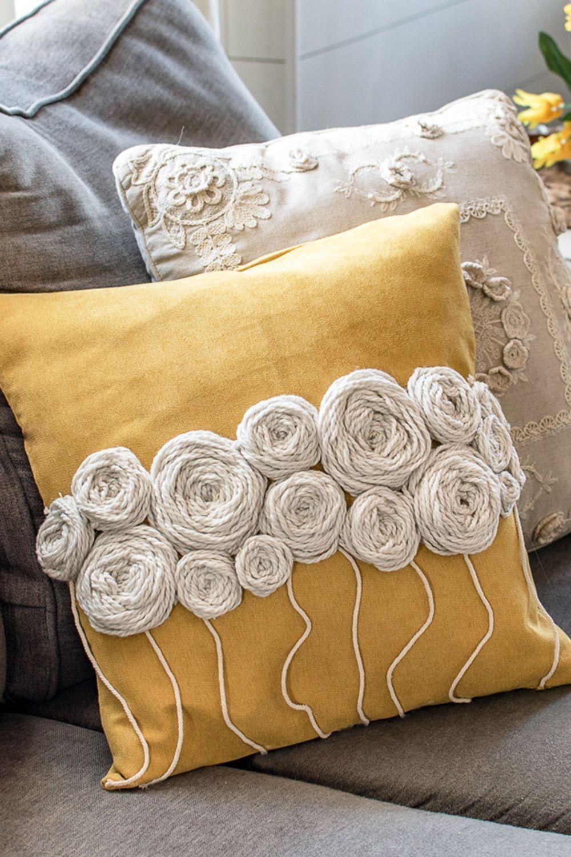 18 diy pillows food ideas
