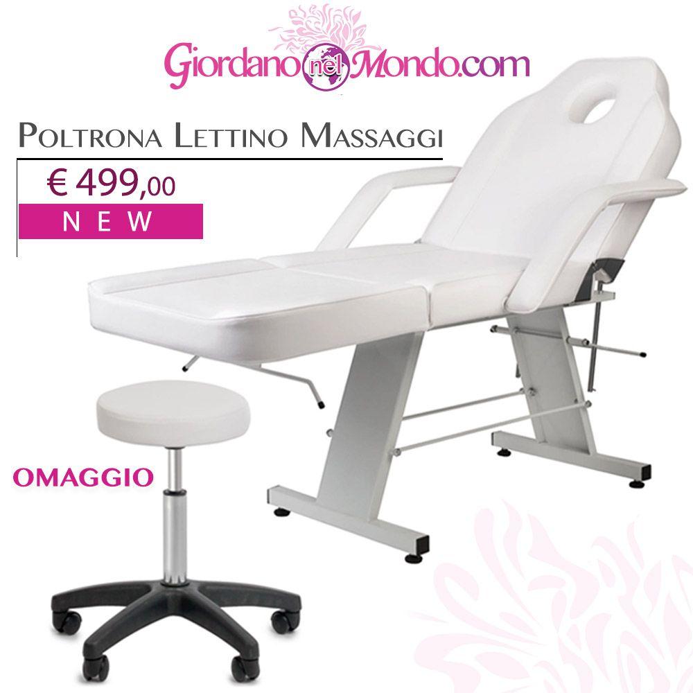 Lettino Massaggio Subito It.New Poltrona Lettino Massaggi Sgabello In Omaggio A Soli 499