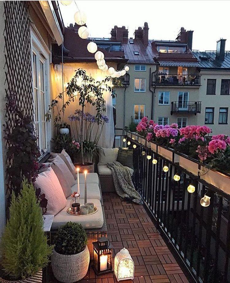 Balkon Interior Inspiration Boho Draussen Und Chillen Terrasse