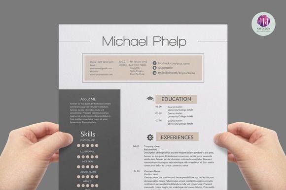 Professional resume template Professional resume, Professional