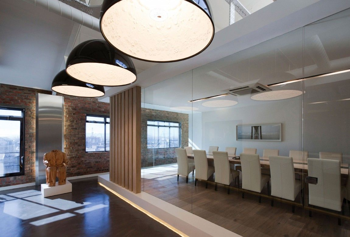 Sunny Boardroom Office space design, Office interiors
