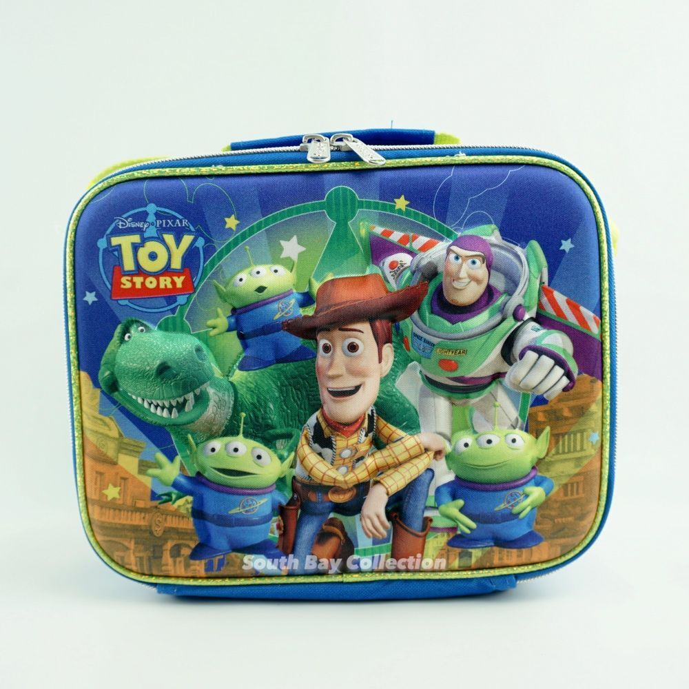 d3cac62270c7 ToyStory Lunch Box Bag Kids Cartoons Themed Insulated Soft Lunchbox ...