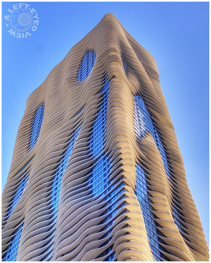 Architecture Buildings In Chicago the aqua building, chicago | interesting illinois | pinterest