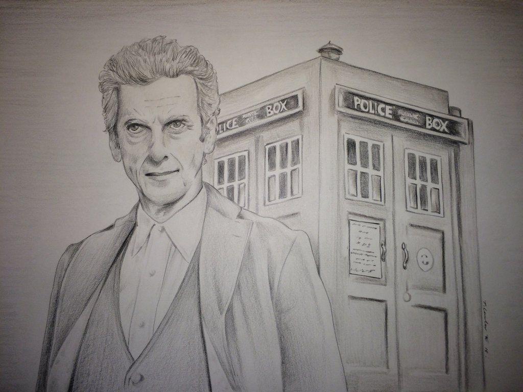 Доктор кто рисунки поэтапно