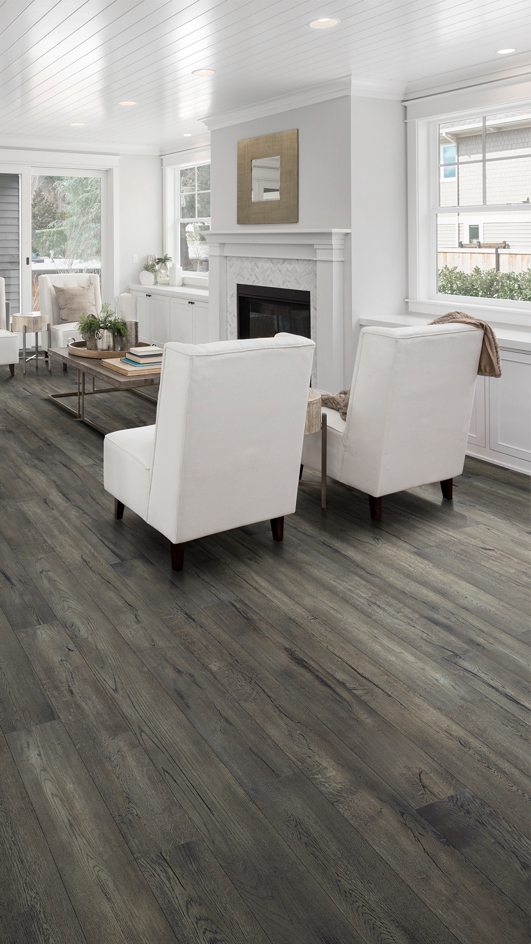 Want Patina Flooring For Your Living Room Lifecore Anew Recaptured May Be The Perf Light Grey Hardwood Floors Grey Hardwood Floors Living Room Hardwood Floors