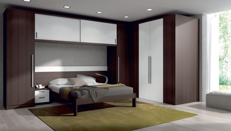 Dormitorio de matrimonio puente con vestidor un cl sico reinventado horta - Dormitorio puente ...