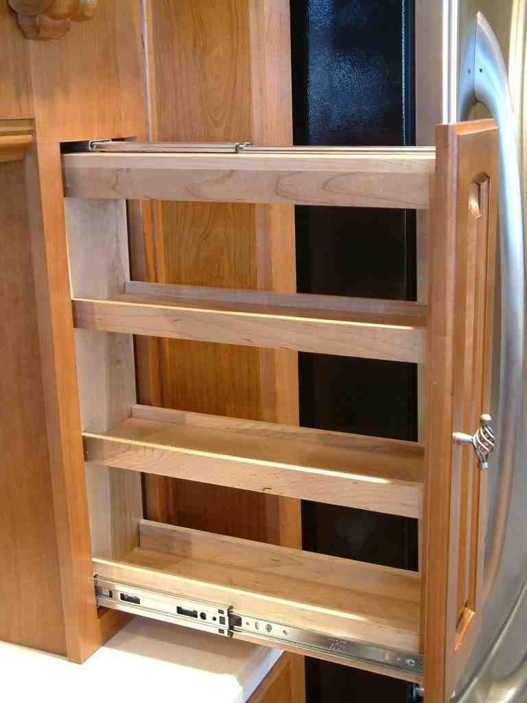 Sliding Pantry Shelves