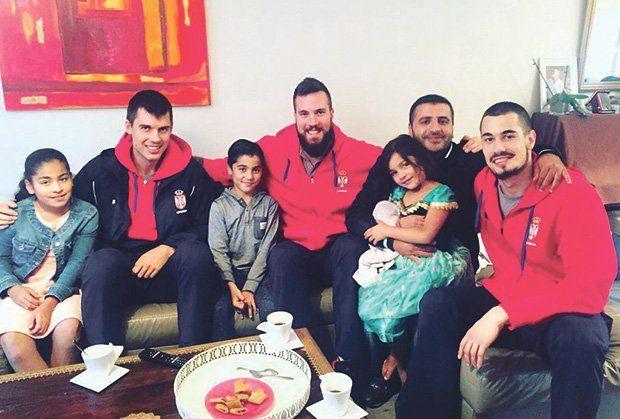 košarka, Nikola Kalinić, Miroslav Raduljica, Zoran Erceg, foto miloš bjelinić
