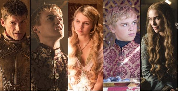 Golden family of Westeros.