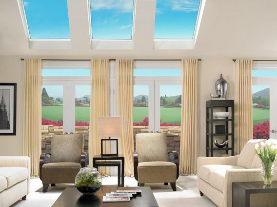 Beautiful Skylights Add Value To Your Home...Especially In The Spring And Summer  Months
