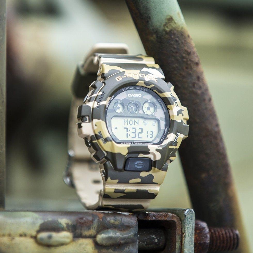 G-Shock Women s S-Series GMDS6900CF-3 Military Camo  efdf54643