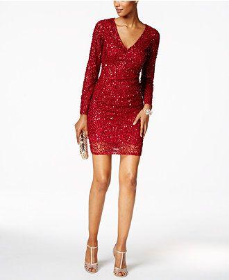 INC International Beaded Evening Dress