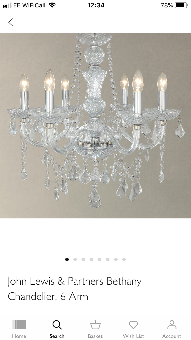 Bethany 5 Light Small Vintage Chandelier