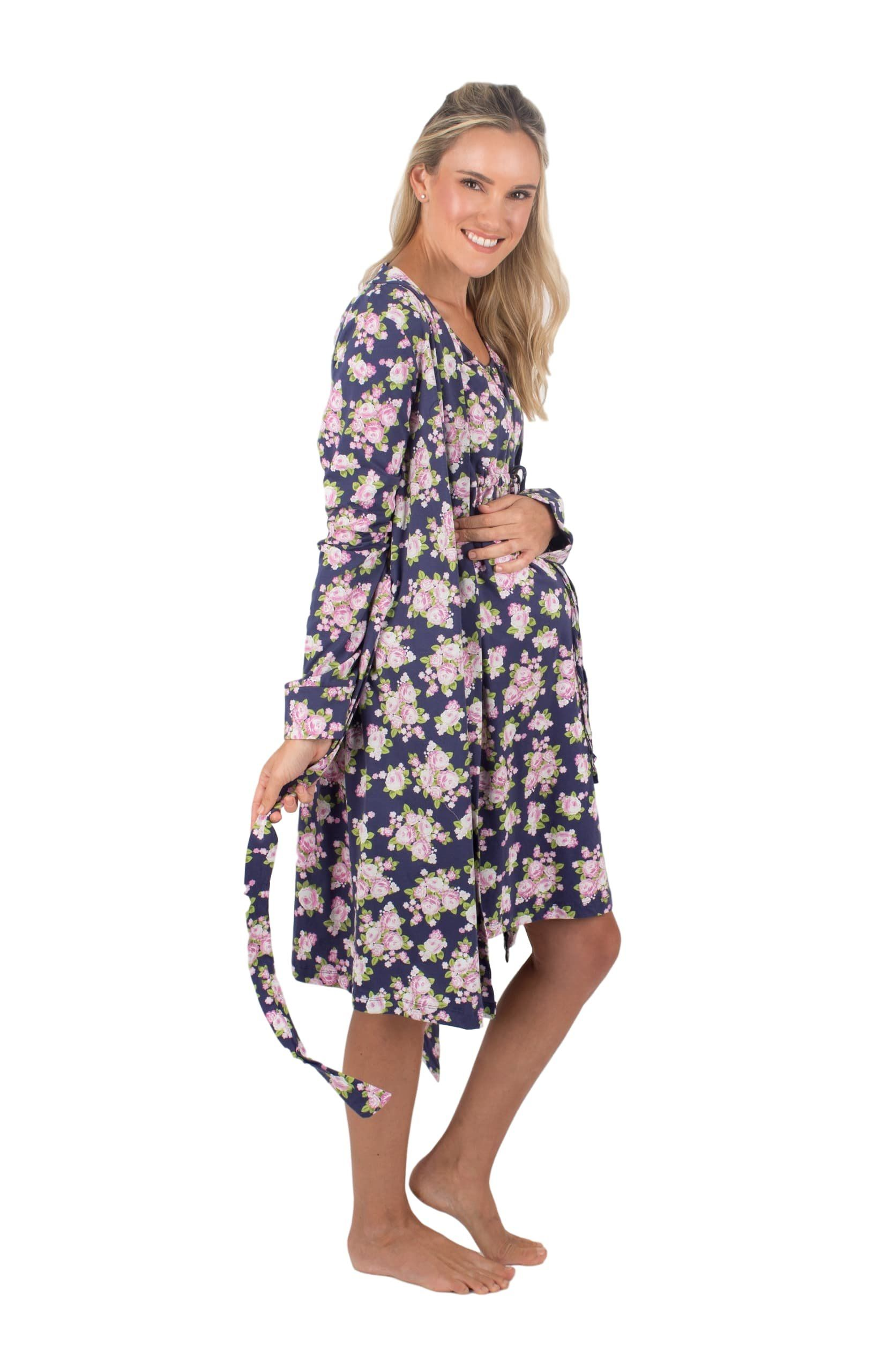 9113c11a763c9 nursing tops - Baby Be Mine 3 In 1 Maternity Labor delivery Nursing Hospital  birthing Gown and Matching Robe S/M Pre Pregnancy 212 Eve *** See the image  web ...