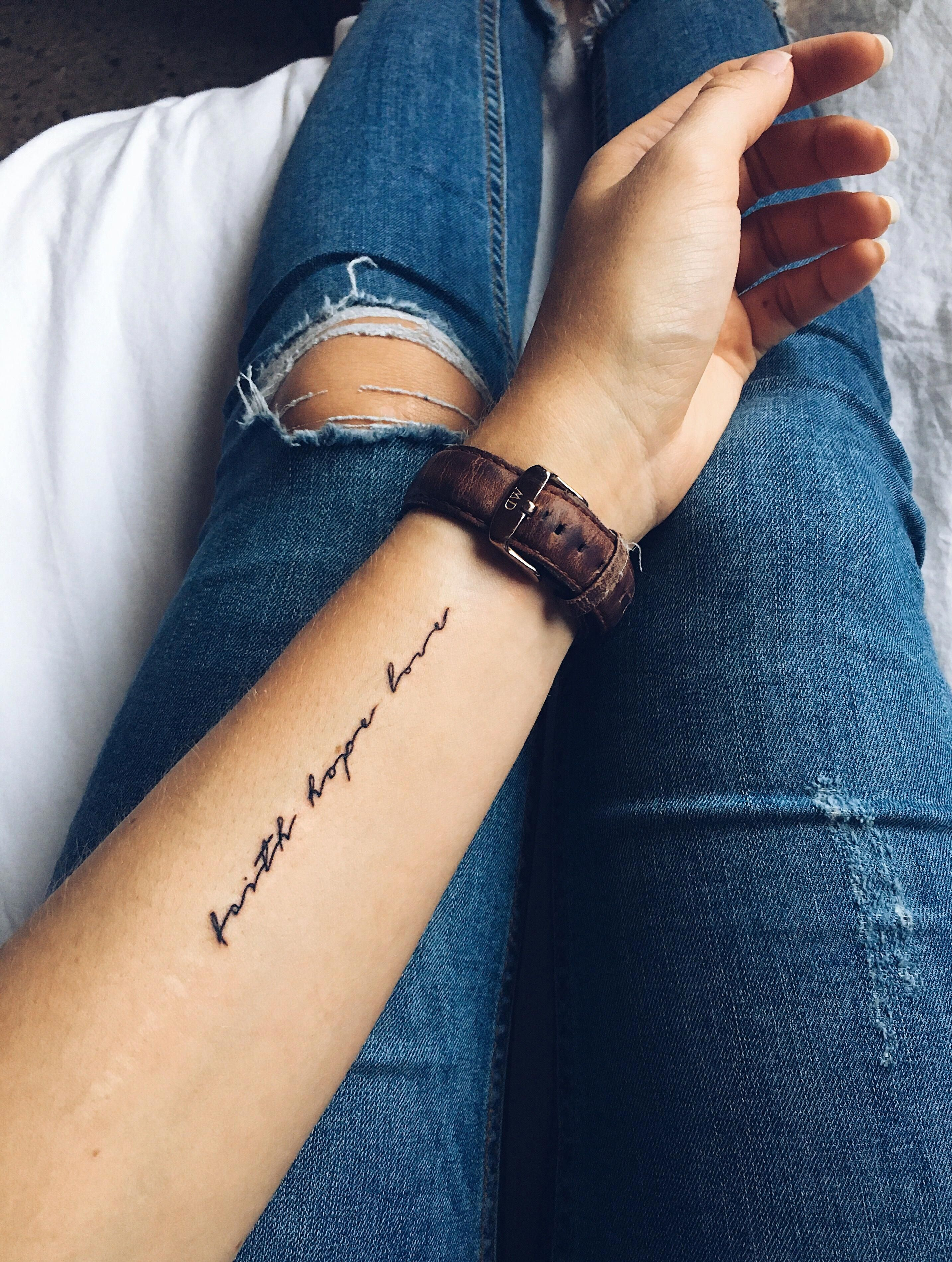 Word Tattoo Design With Images Inspiring Quote Tattoos