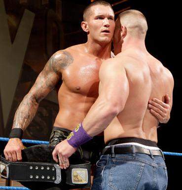 Randy Orton And John Cena Survivor Series 2010 Randy Orton John Cena Orton