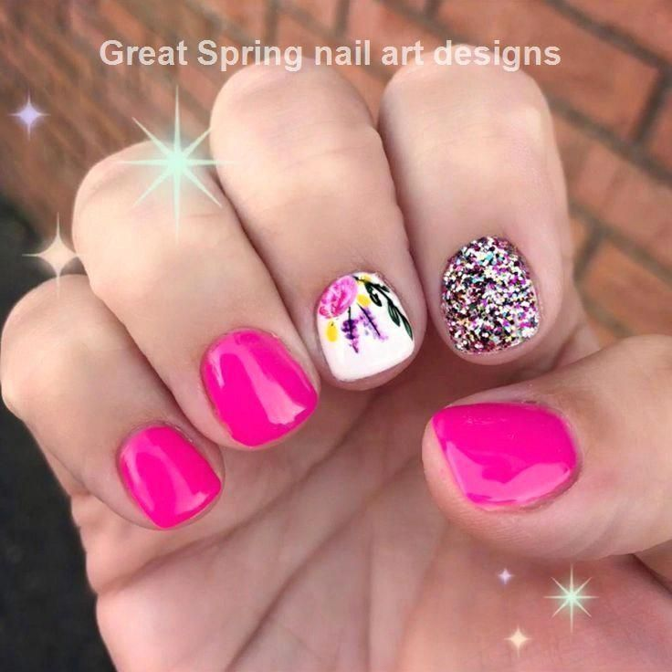 - Pretty nails - - #Nails #Pretty #Unghie #gel #fluo #Unghiegel - Various nails Gels - - Pretty