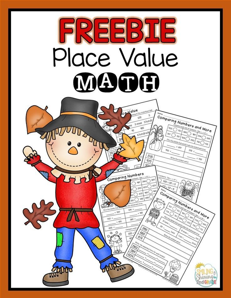 FREE Place Value Math for second grade---comparing numbers, expanded ...