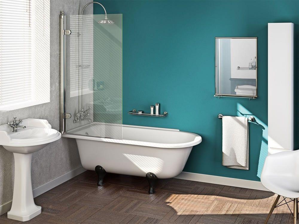 traditional kensington free standing shower bath bathroom store ...