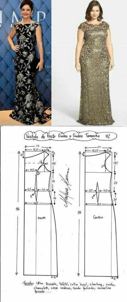 Pin de Eli Rodriguez Aguirre en 15 | Pinterest | Costura, Patrones y ...