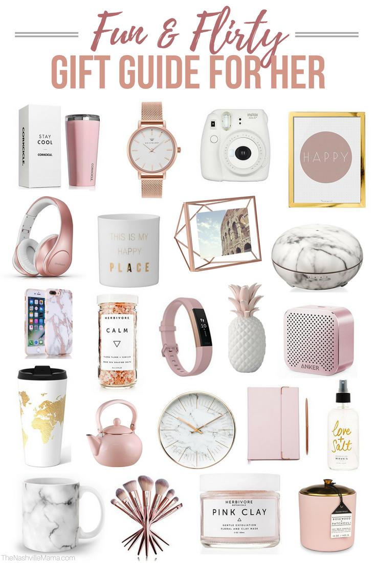 Fun Flirty Gift Guide For Her The Nashville Mama Flirty Gift Gifts For Teens Tween Girl Gifts