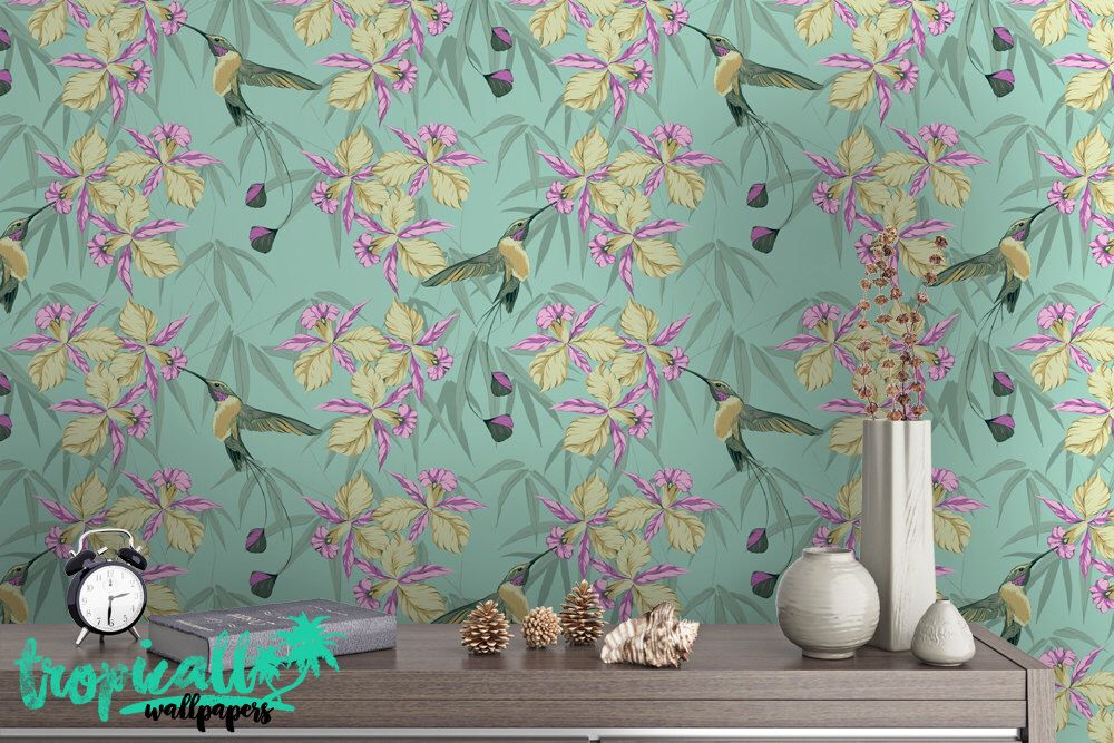 Pin By E Macks On Soph Wallpapers Removable Tropical