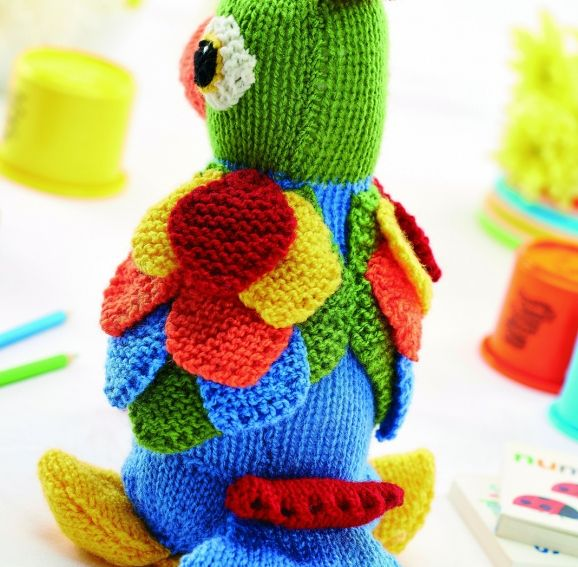 Jason The Parrot Free Knitting Patterns Kids Patterns Knitted