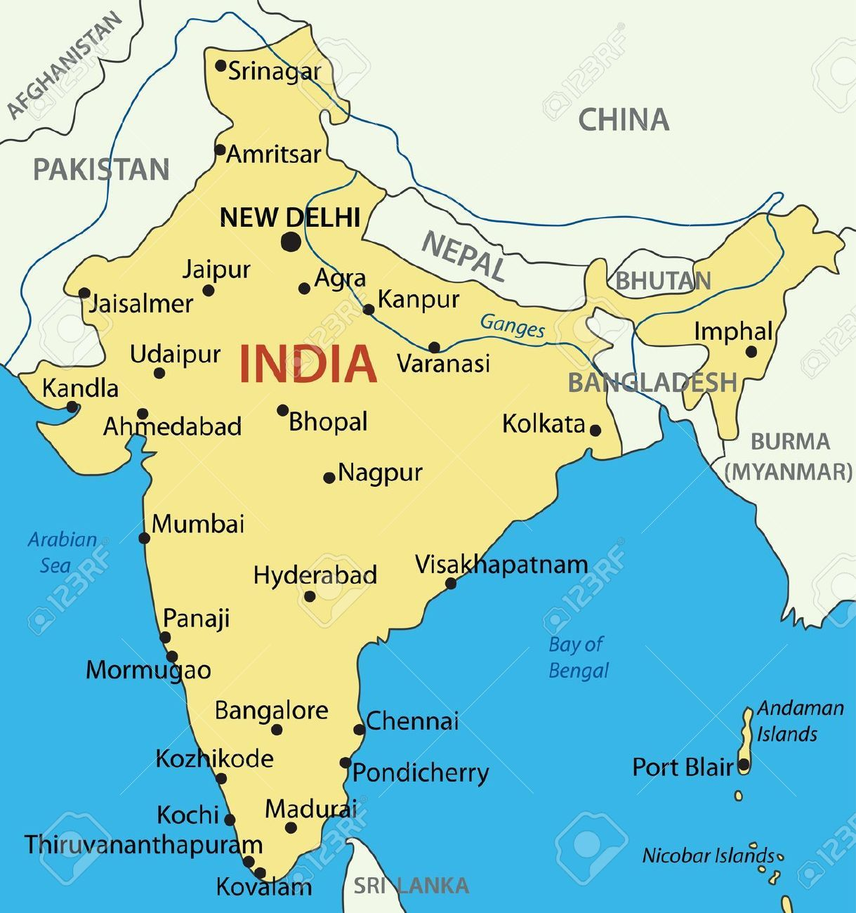 india mapa mapa india | Jornada sobre la Paz | 30/01/2016 | Pinterest | India india mapa