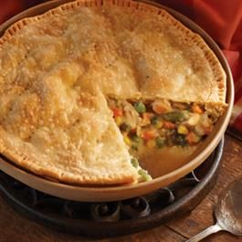 Homestyle Turkey and Vegetable Pot Pie