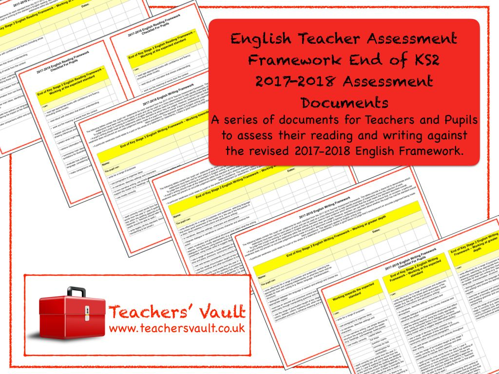 English Teacher Assessment Framework End Of Ks2