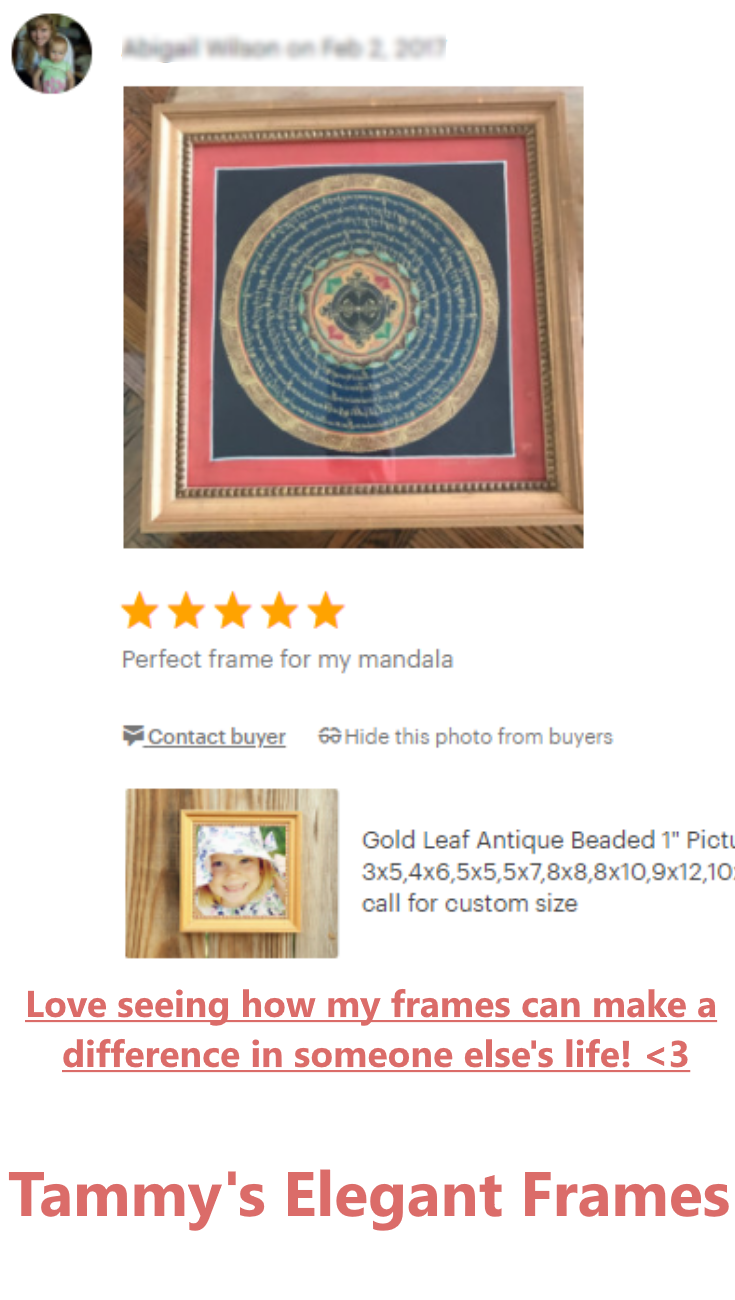 Love seeing how my frames can make a difference in someone else\'s ...