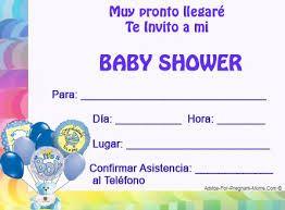 Resultado de imagen para invitaciones para baby shower niño para imprimir