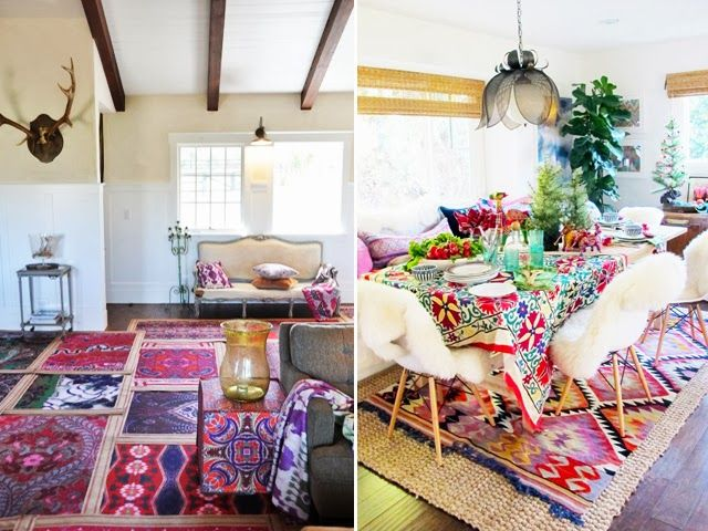 Street Scene Vintage: {Home Decor Trends:} Layered Rugs | A Very ...