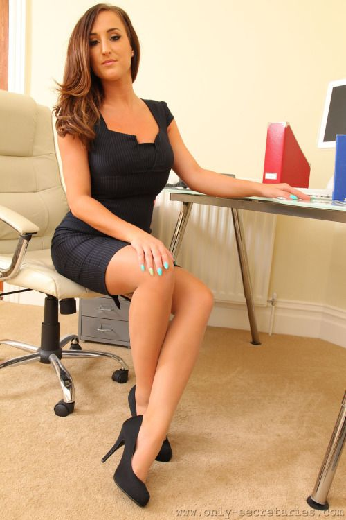 Transgendered sexy office suits