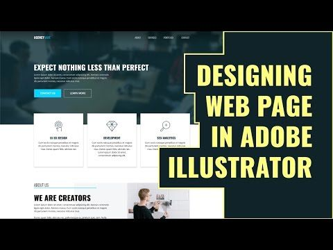 Make A Responsive Web Design Grid In Illustrator Youtube Web Design Web Design Tutorials Design Tutorials