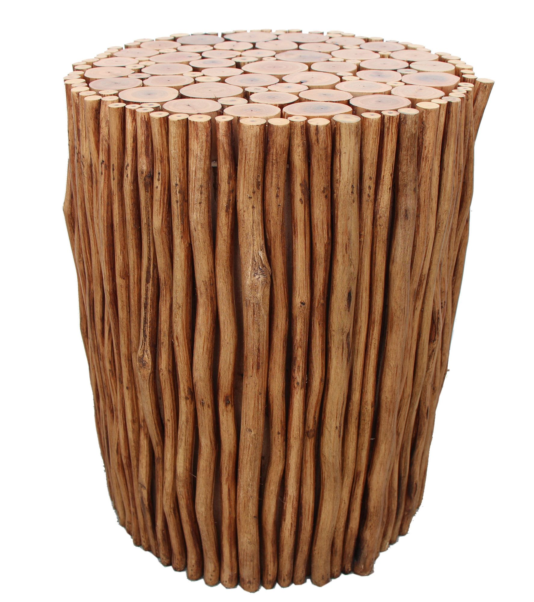 Solid Wood Accent Stool Asian Home Decor Wood Stool Wood Accents