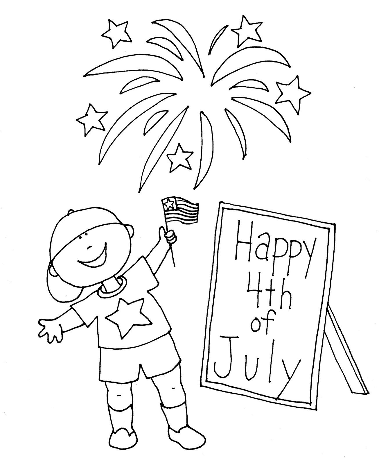5 Free Fourth Of July Coloring Pages Kindergarten Math Worksheets Everyday Math Coloring Pages For Teenagers