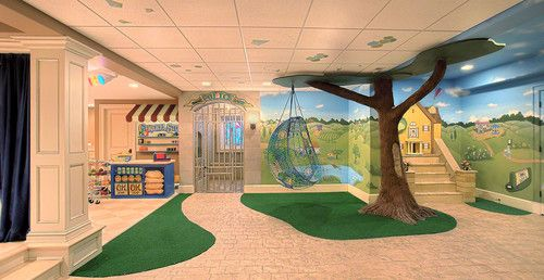 neat playroom Forest topic Pinterest Sala de juegos, Para