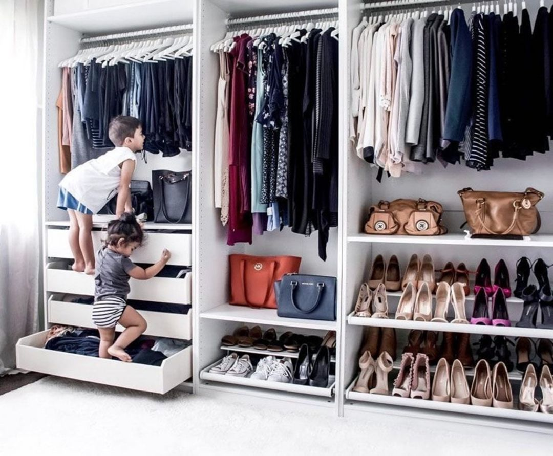 20 Stunning Closet Room Design Ideas For Beautiful Storage