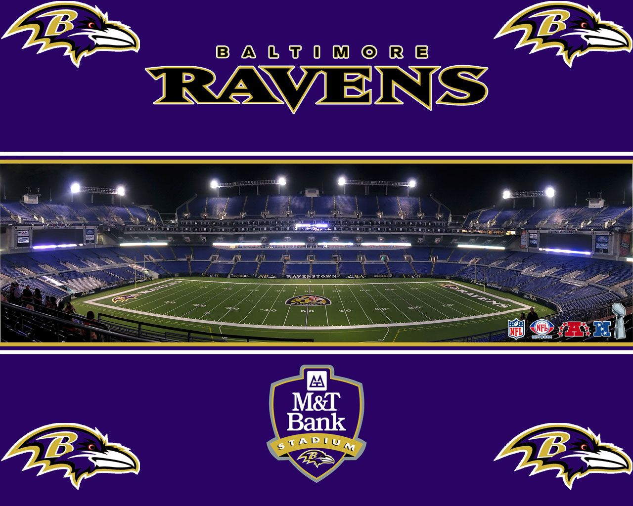 What is the baltimore ravens mascot name - M Bank Stadium The Baltimore Ravens Home