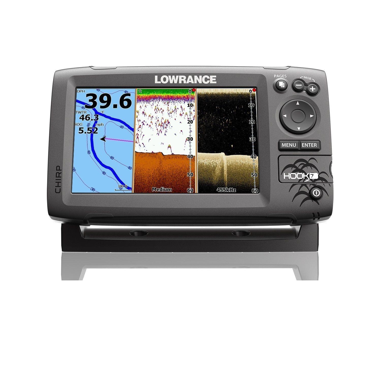 Lowrance Hook 7 Fishfinder Chartplotter No Transducer Nav Marine Electronics Transducer Gps