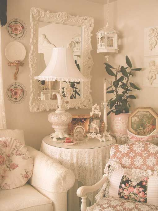 Shabby Chic Living Room Chairs Side Table With Many Decor Ideas