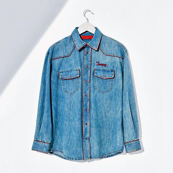 66bd7a921 Tommy Hilfiger Denim Shirt - vintage denim/multi - Tommy Hilfiger Shirts -  main image